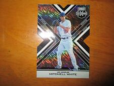 MITCHELL WHITE 2016 Panini Elite BLACK Die Cut Parallel Insert #43/99 Dodgers