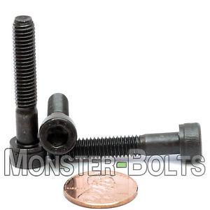 Qty 100 Button Head Socket M5 5mm x 16mm Plain Screw Bolt 12.9 Grade Black
