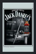 Barspiegel  Jack Daniels Billiard,  20 x 30 cm Retro, Nostalgie, Werbung