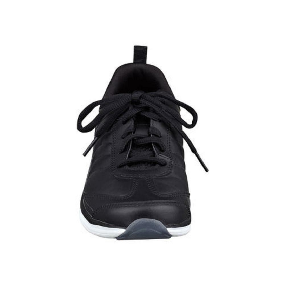 Easy Spirit Southcoast athletic shoe GEL schwarz Leder sz 10 WIDE NEU