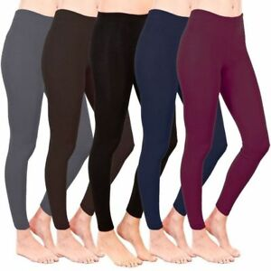 NEW-WOMEN-039-S-LADIES-WARM-THICK-WINTER-THERMAL-FLEECE-LEGGINGS-PLUS-SIZE-6-26