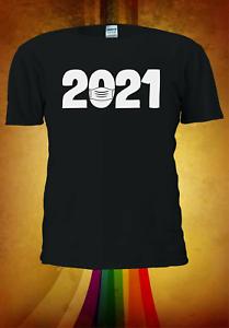 2021-infine-Capodanno-Natale-Xmas-Divertente-Uomini-Donne-Unisex-T-shirt-3334