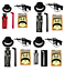 5PC-MENS-GANGSTER-1920-039-s-AL-CAPONE-MAFIA-GANGSTER-GUN-HAT-TIE-BRACES-FANCY-DRESS miniatuur 1