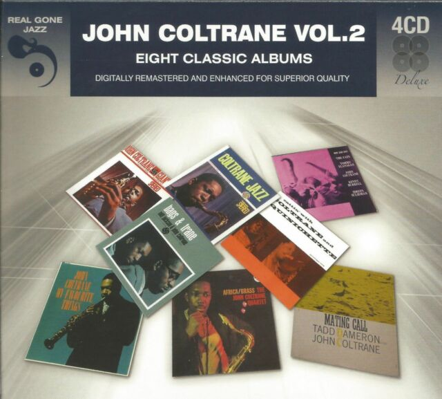 Eight Classic Albums Vol. 2 * by John Coltrane (4 CD, 2012, Real Gone) Import
