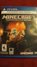 Minecraft PlayStation Vita, 2014 New PS Vita DIGITAL SEALED!