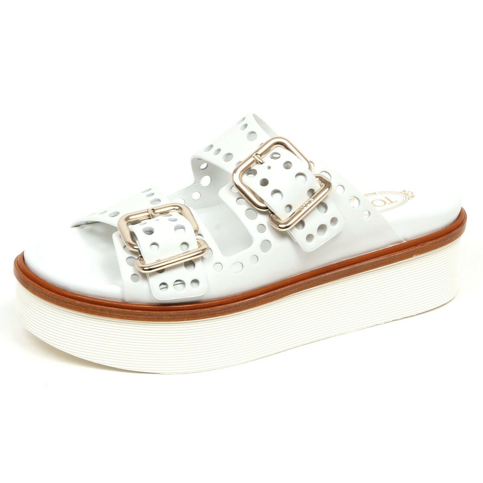 F3236 Sandalo women White TOD'S shoes ZEPPA shoes Woman