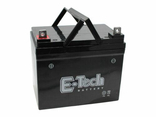 Batterie 12V 22Ah + Pol Links passend CMI 96-125 13HH761F620 Rasentraktor