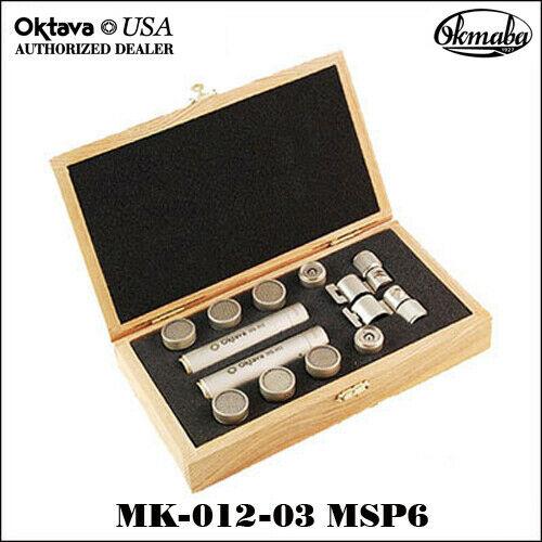 Oktava - MK-012-03 MSP6 Matched Stereo Pair - Silver - Brand New - $5 Ship