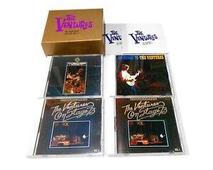 THE-VENTURES-LIVE-BOX-vol-2-japan-editoriale-emi-liberty-4-CD-tocp714952