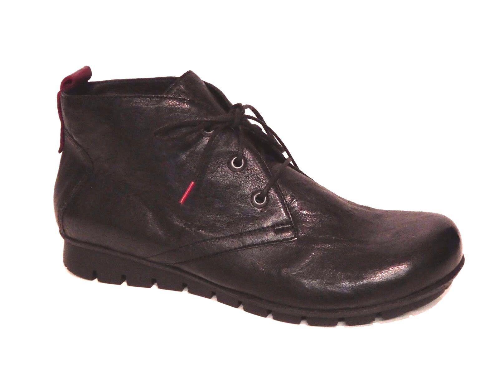 Think Damen Schuhe Boots Stiefel Menscha schwarz Lederfutter Einlagen Leder