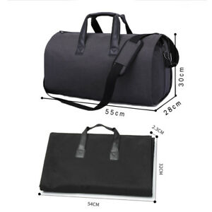 30fb30181 Image is loading Convertible-Garment-Bag-with-Shoulder-Strap-Modoker-Carry-