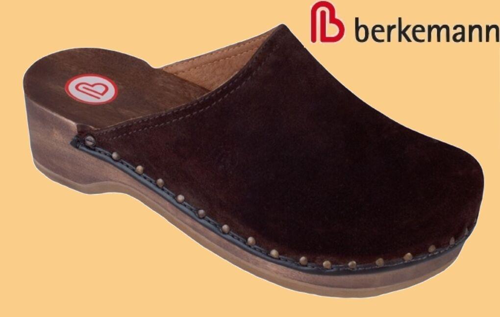 Berkemann Holz Clogs Toeffler Leder Damen Herren Hausschuhe Pantoffeln div Gr     |  | Mode-Muster  | Mittlere Kosten