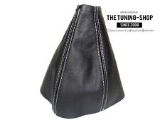For Mercedes Sprinter MK2 2006-2015 Gear Gaiter Black Leather Grey Stitching