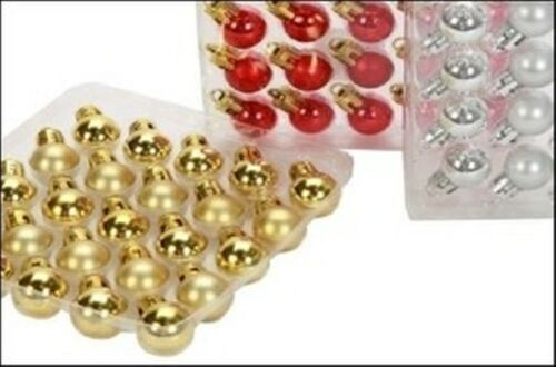25 brillant matt boules; couleurs assort PM24