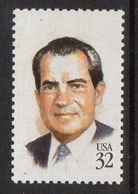 United States Usa #2955a Xf/nh Red Engraving Omitted Variety