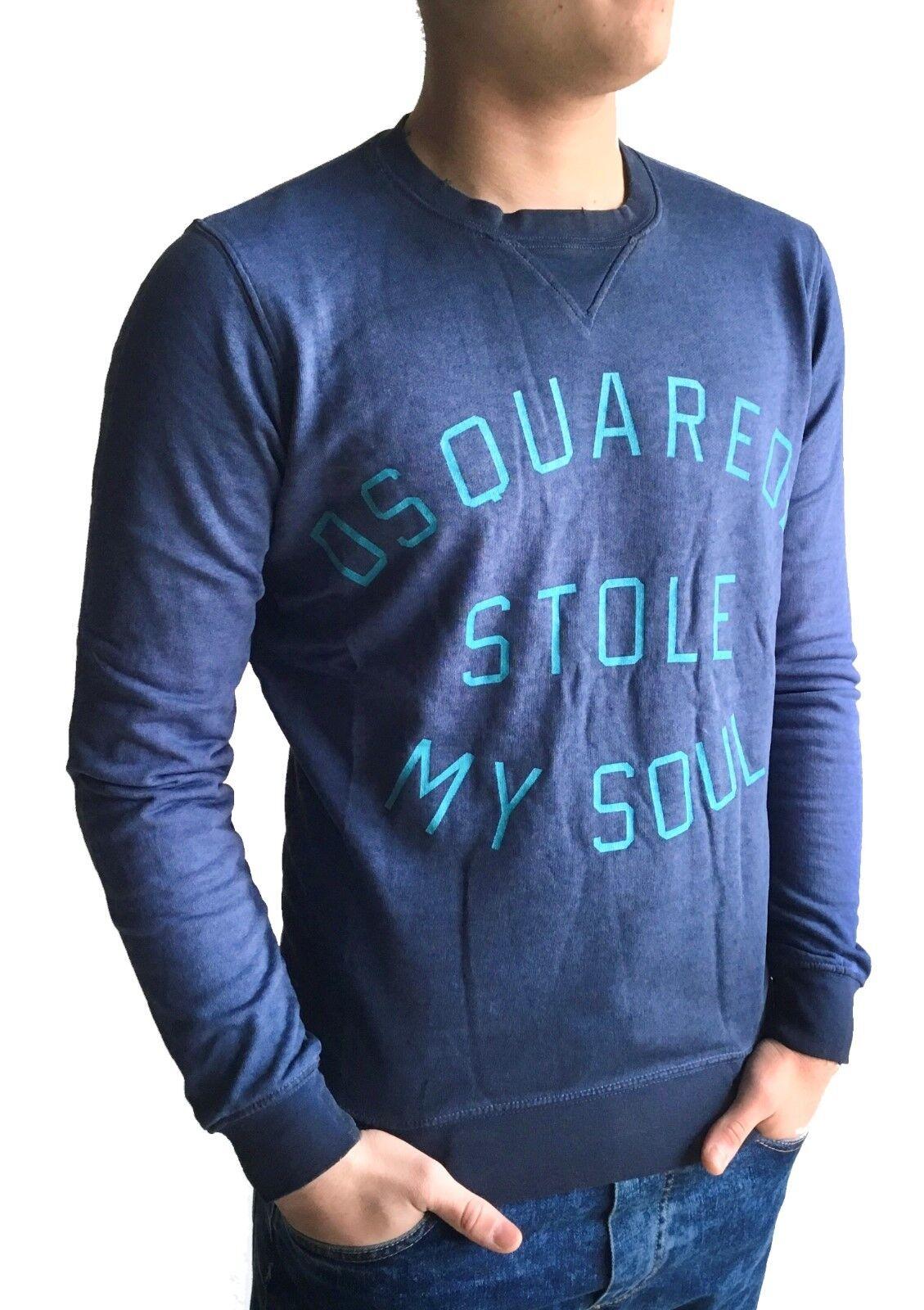 DSQUARED2 Maglia moda uomo man cotone manica lunga 0010 SPECIAL PRICE