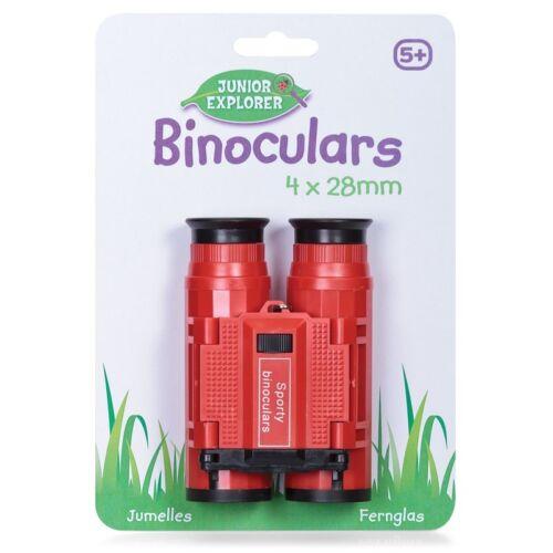 Binoculars plastic for Kids Play Fun Telescope Toy New Red Or Green