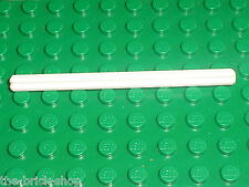 Axe blanc LEGO TECHNIC White Axle 8 ref 3707 / Set 8480 7317 65081 8009 ...