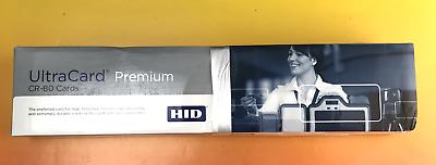 HID Fargo CR-80 UltraCard Premium Composite Cards #1366 500 Counts