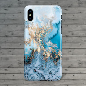 huge discount 90930 14af2 Details about Blue Marble iPhone X, iPhone 8 plus, iPhone 8 7 7S 6 Slim  Hard Case Granite Cute