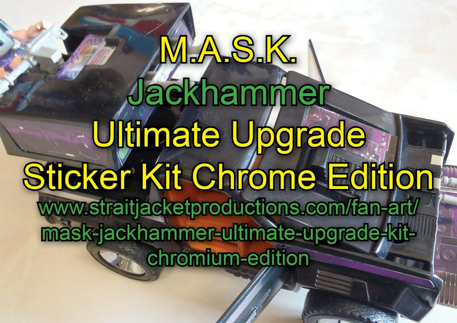 Mask M.A.S.K Martello Pneumatico Ultimate UPGRADE KIT-Cromo Edizione