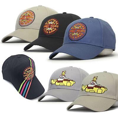 Officially Licensed The Beatles Yellow Submarine Logo Baseball Cap