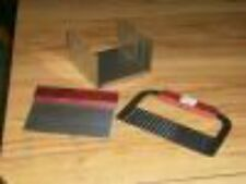 """Soap Cutter Box Stainless Steel Cuts 1"""" or 2"""" Bars Plus Straight & Wavy Cutters"""