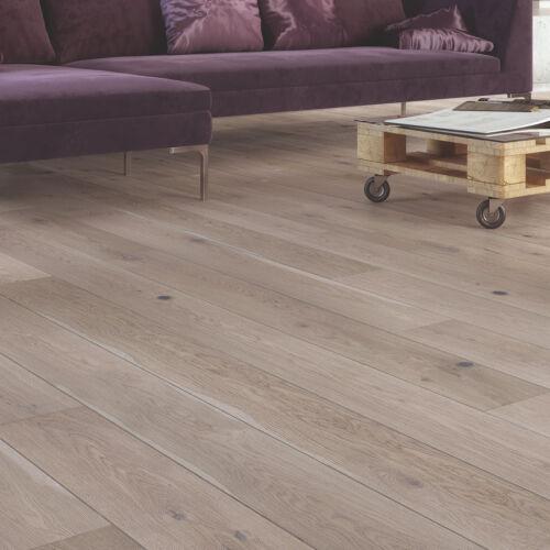 Grey Mist Oak 1 Strip Matt Lacquer 5G Engineered Flooring 2.77m² per pack