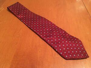 euc-Arrow-men-039-s-Red-Geometric-Silk-Tie-Necktie-61-034-3-75-034