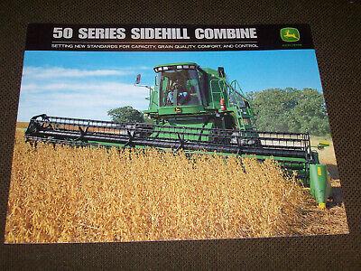 John Deere 9550 Sidehill Combine Dealer/'s Brochure YABE12
