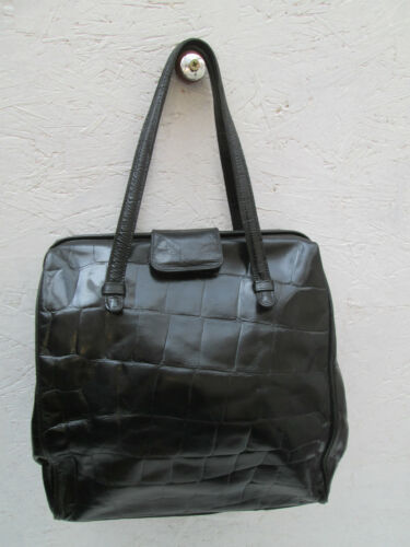 Furla Tbeg Sac Vintage Cuir Main Authentique Bag À fBxqpT