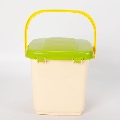 9L Kompostbehälter Küchen Küchenkomposter Starterset Belüftet Kompostierungszeit