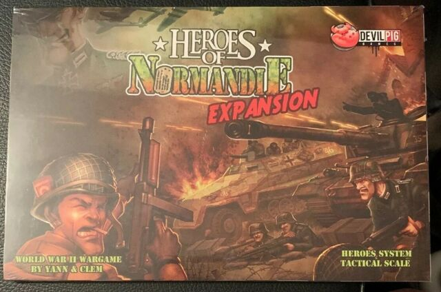 Heroes of Normandie Expansion Terrain Set #2 Devil Pig Games Free US Ship SW