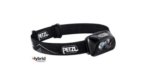 Petzl ACTIK CORE Black Led Stirnlampe inkl CORE-Akku E099GA00 450 Lumen 75 g