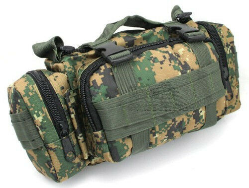 Multi-function Practical Waist Pack Cycling Bicycle Handlebar Bag Shoulder Bag