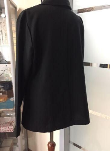 46 WITT Eleganter Blazer Jacke Abend Business Event Schwarz L XL XXL Gr NEU