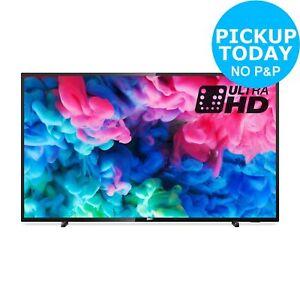 Philips 50PUS6503 50 Inch 4K Ultra HD HDR WiFi Smart LED TV - Black