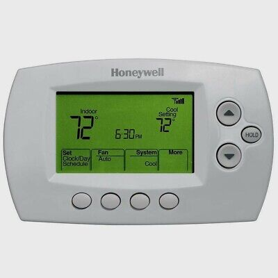 "NEW! HONEYWELL WiFi DIGITAL PROGRAMMABLE THERMOSTAT 3-3/4""W X 2-1/4""H RTH6580WF"