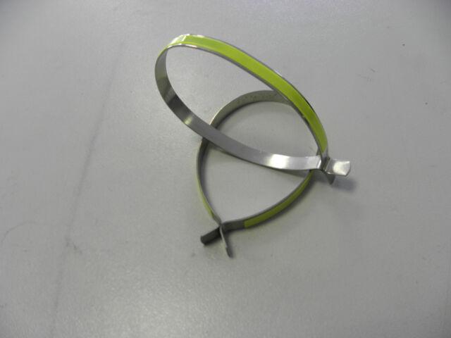 Fahrrad Hosenspange Signalspange Hosenklammer Mit Reflex 01817 Sonstige