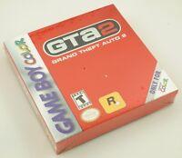 Nintendo Gameboy Color Gbc - Grand Theft Auto 2 - Brand Factory Sealed