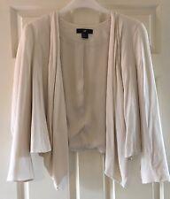 Cream H&M Waterfall Blazer / Jacket *Size 12*