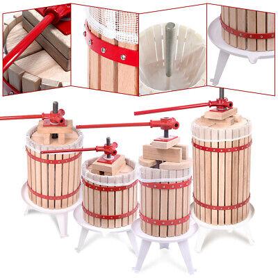 6-30L Obstpresse Weinpresse Saftpresse Maischepresse Obstmühle Spindelpressung