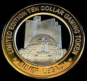 999 10 00 Silver Strike Silver Legacy Resort Casino Reno Nv Casino 10th Ebay