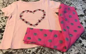 NWT-TODDLER-GIRL-BABY-GAP-2pc-OUTFIT-SIZE-2T