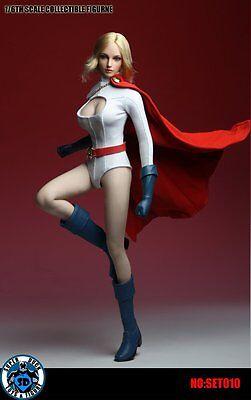 Super Duck 1/6 Power Girl Suit SET010 Set New