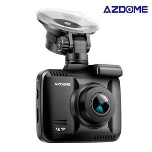 AZDOME-4K-Dashcam-GPS-WIFI-Full-HD-2160P-Mit-Autokamera-Nachtsicht-G-Sensor-WLAN