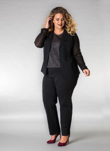 en Yesta X Blazer 50 Taille Jacket Luxury transparente XL 52 Inserts two By mousseline RqRwrgP