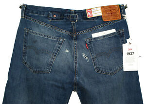 f208a02b868 1937 LEVI'S LVC 501 XX VELZY RAW CUT SELVEDGE BIG E BLUE DENIM JEANS ...