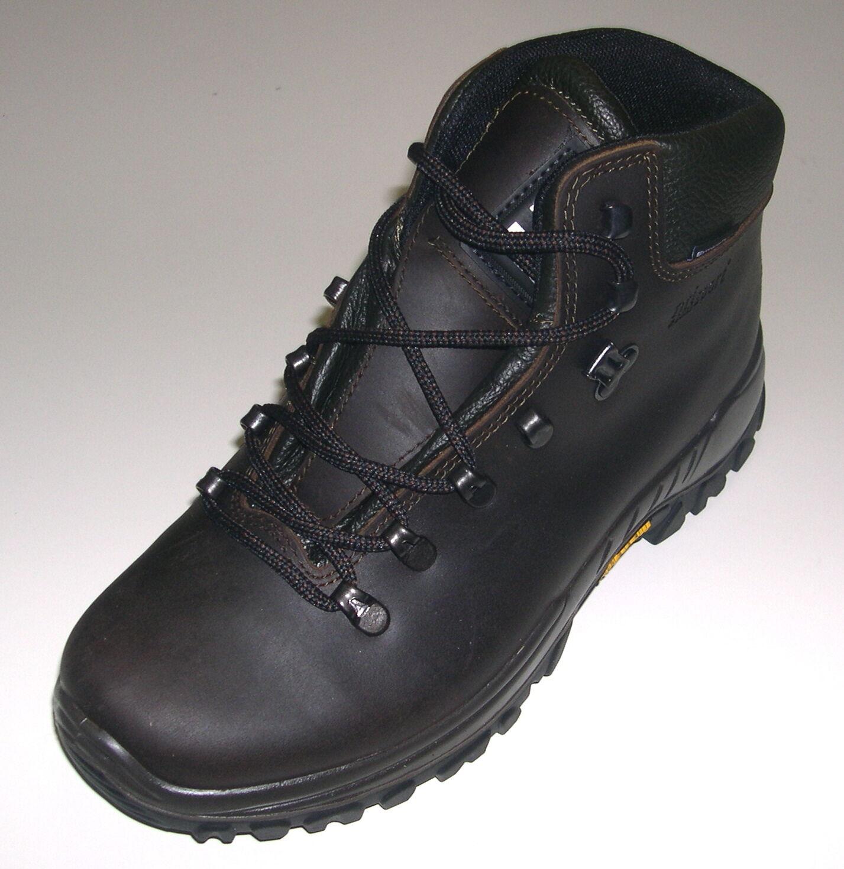 GriSport Herren Schuhe Outdoor Wanderschuh Trekking Boot Art 10353 braun Leder