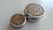 Doppio Sunnah Organic profumato Barba Crema 50 ML + GRATIS REGALO 15ml tascabile Jar